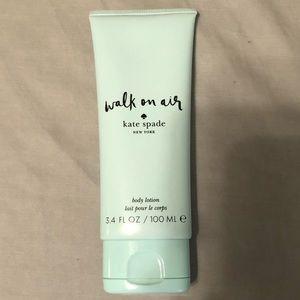 Kate Spade Walk On Air perfumed body cream *NEW*